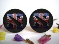 """""""Dota 2"""" Great Britain Cufflinks"""