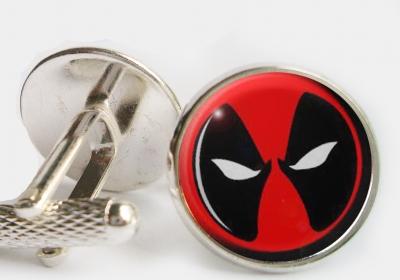 """""""Deadpool"""" Cufflinks"""