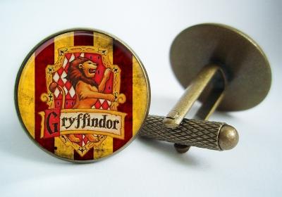 """""""Gryffindor Harry Potter"""" Cufflinks"""