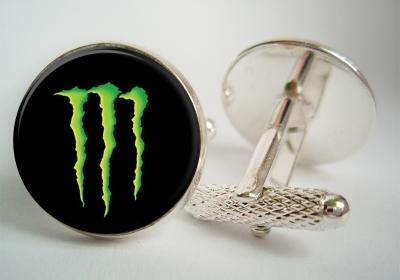 """""""Monster Energy"""" Cufflinks"""