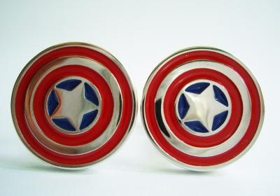 """Captain America"" Cufflinks"