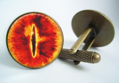 """The Eye of Sauron"" Cufflinks"