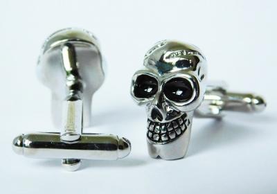 """""""Jolly Skull"""" Cufflinks"""