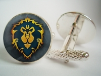 """WarCraft Alliance Lion"" Cufflinks"