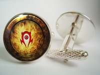 """WarCraft Horde"" Cufflinks"