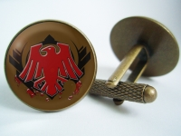 """Warhammer Blood Ravens"" Cufflinks"