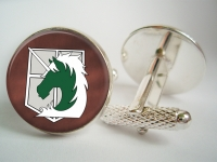 """Attack on Titan Military Police Brigade"" Cufflinks"