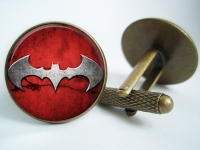 """Batman Red"" Cufflinks"