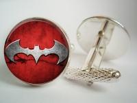 """""""Batman Red"""" Cufflinks"""