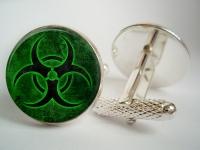 """""""Biohazard"""" Cufflinks"""
