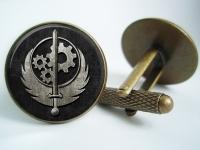 """Fallout Brotherhood of Steel"" Cufflinks"