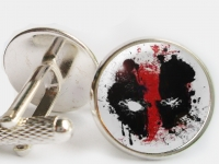"""Deadpool"" Cufflinks"
