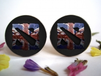 """Dota 2"" Great Britain Cufflinks"
