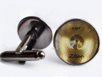 """Ride Cymbal Drum"" Cufflinks"