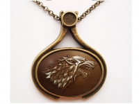 """Game of Thrones Stark"" Pendant"