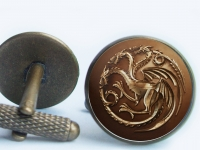 """Game of Thrones Targaryen"" Cufflinks"