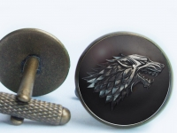 """Game of Thrones Stark"" Cufflinks"