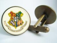 """Hogwards Harry Potter"" Cufflinks"