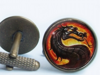 """Mortal Kombat"" Cufflinks"