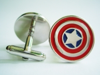 """Captain America"" Cufflinks"