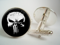 """Punisher"" Cufflinks"
