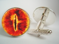 """The Eye of Sauron"" Cufflinks"