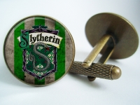 """Slytherin Harry Potter"" Cufflinks"