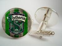 """""""Slytherin Harry Potter"""" Cufflinks"""