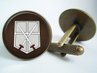 """Attack on Titan Training Corps"" Cufflinks"