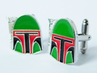 """Star Wars Boba Fett"" Cufflinks"